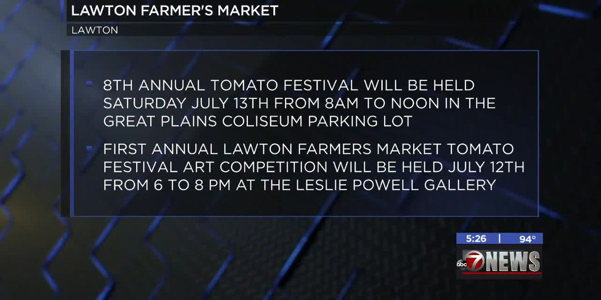 Lawton Farmers Market hosts 8th Annual Tomato Festival