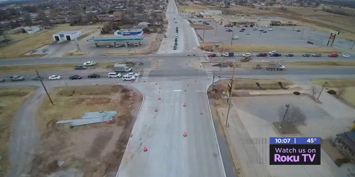 City of Lawton wins award for 45th street construction
