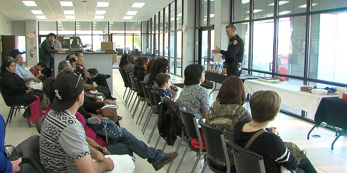 Comanche Nation Citizens Police Academy, 16 graduate