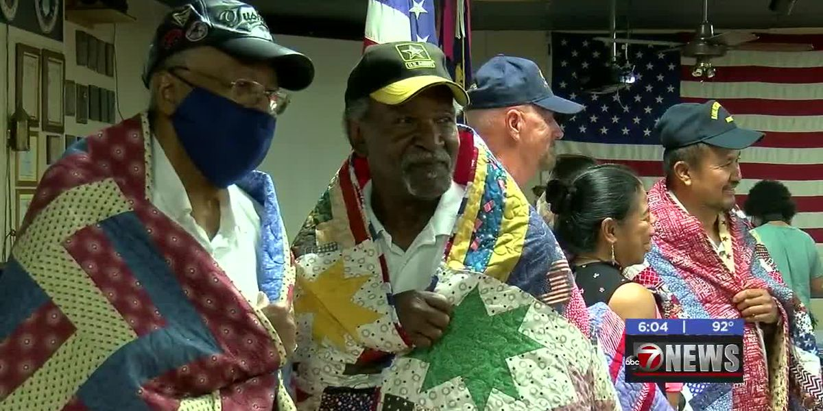Combat Veterans awarded Quilt of Valor in special ceremony