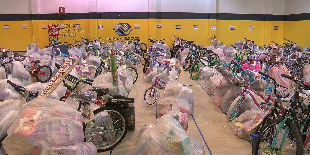 Salvation Army gives Angel Tree gifts to families