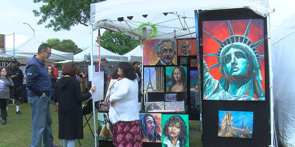 Big crowds attend day two of 2019 Arts for All Festival