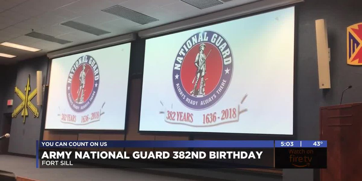Fort Sill celebrates Army National Guard's birthday