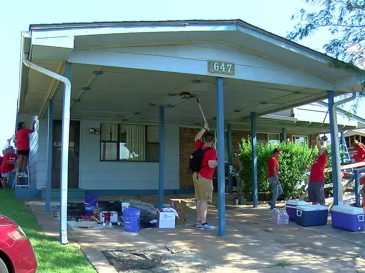 Lawton churches give back to the community on National Serve Day