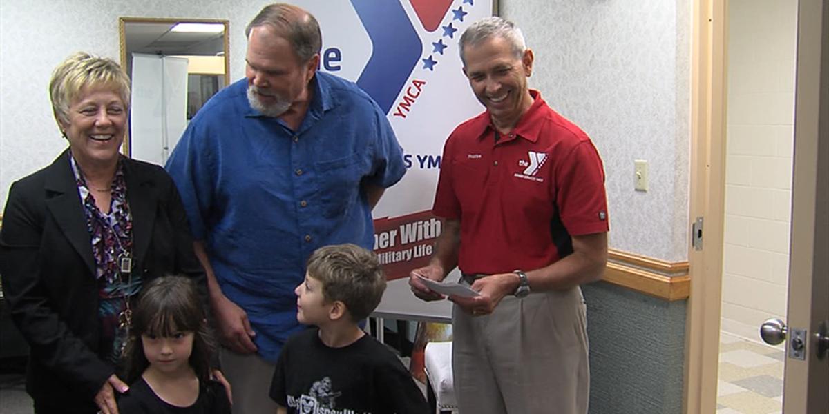 Lockheed Martin donates $9,000 to the Armed Services YMCA