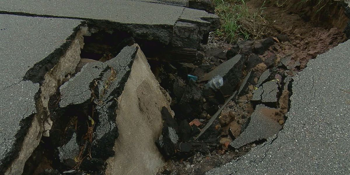 Construction set for repairs on drainage ditch