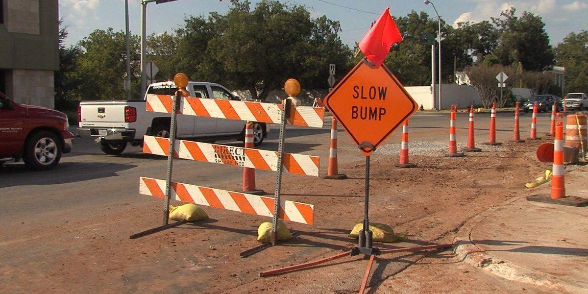 11th Street near Gore Boulevard closed overnight