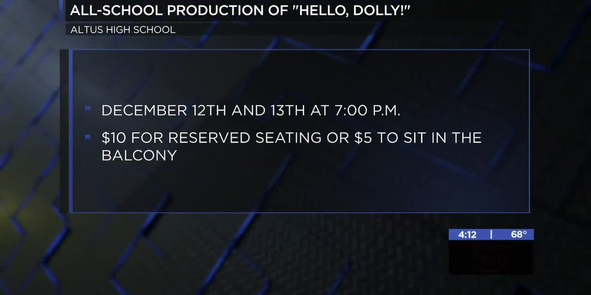 Altus High School presents all-school production of 'Hello, Dolly!'