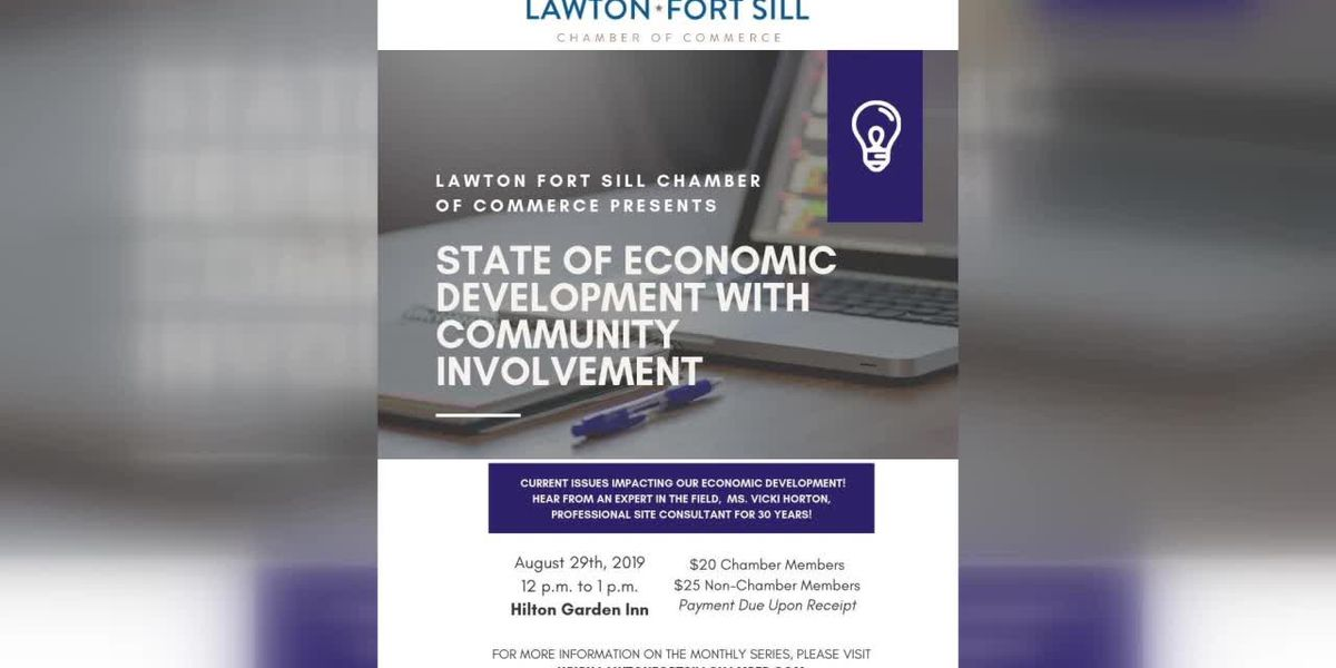 Lawton Fort Sill Chamber of Commerce discuss August events