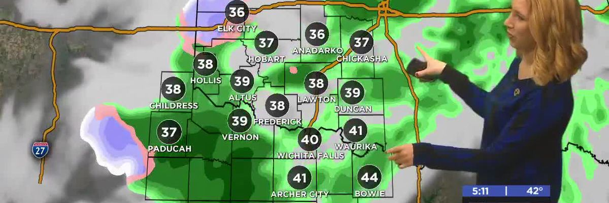 First Alert Forecast: high winds, winter weather late week