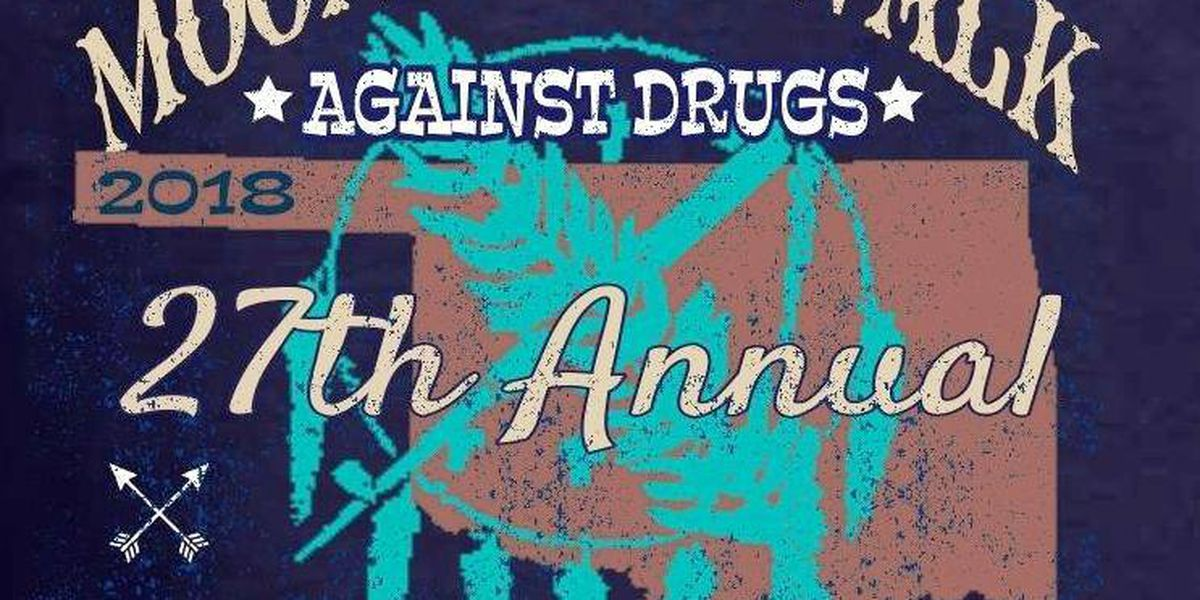 'Moonlight Walk Against Drugs' rescheduled due to weather