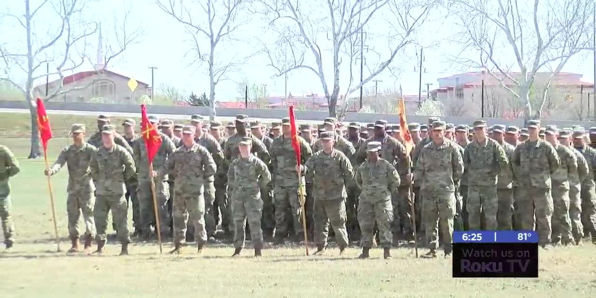 Ceremony held to honor soldiers deploying to South Korea