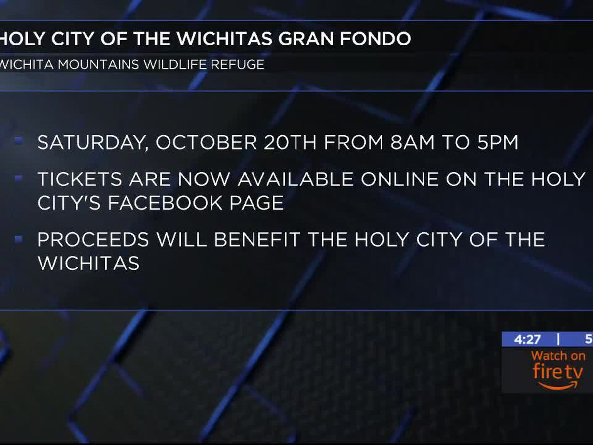 The Holy City of the Wichitas hosting Gran Fondo