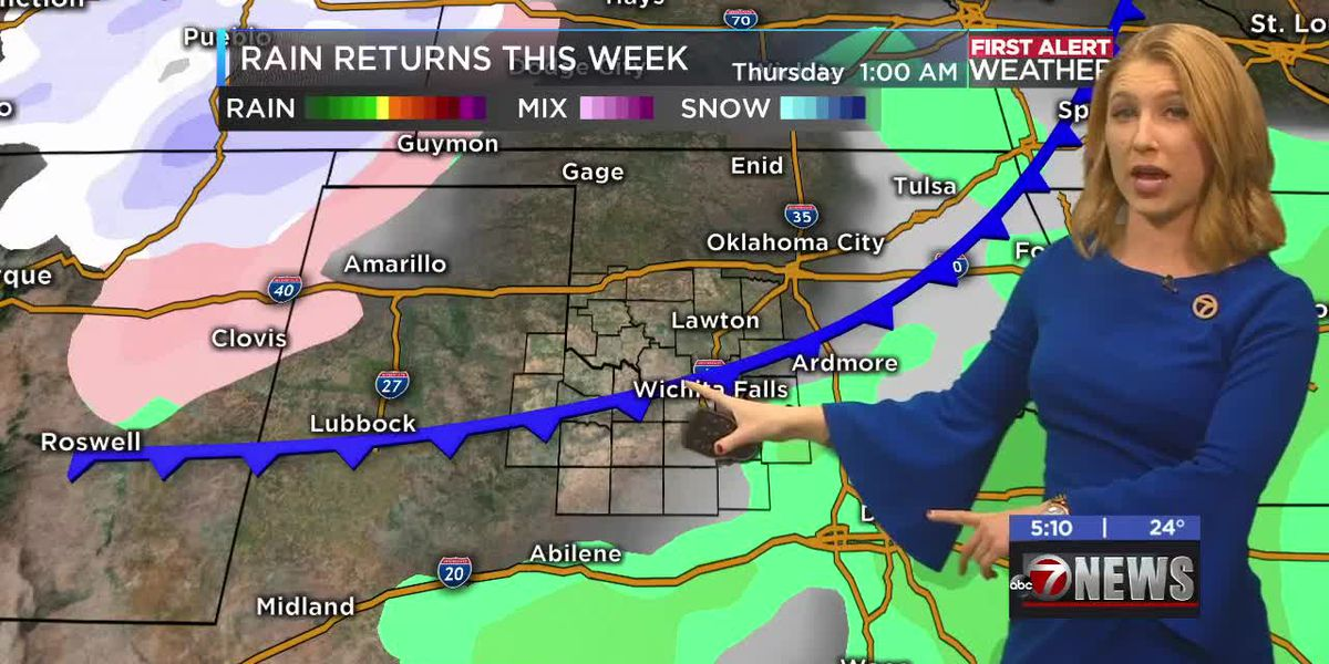 First Alert Forecast: rain returns Thursday