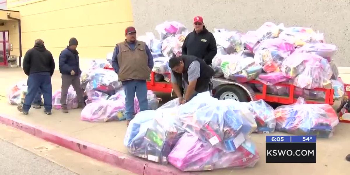 Kiowa Casino and Hotel holds 10th annual toy drive