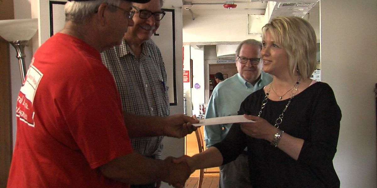 Courthouse employees give homeless shelter huge donation