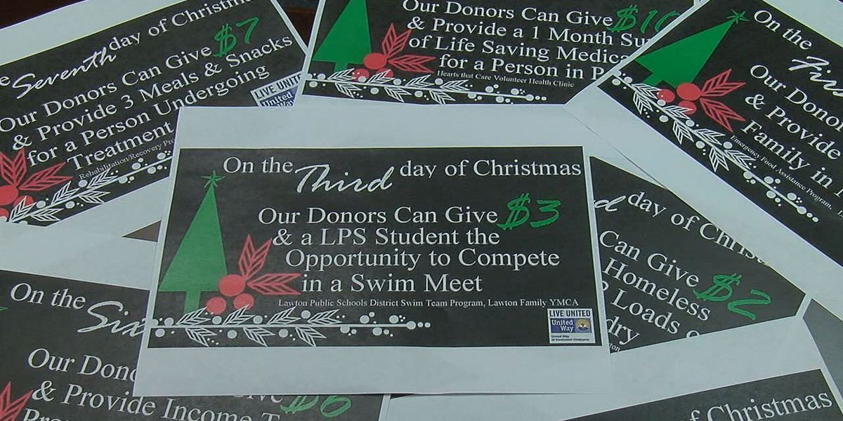 """United Way holds """"12 Days of Christmas Giving"""" virtual campaign"""