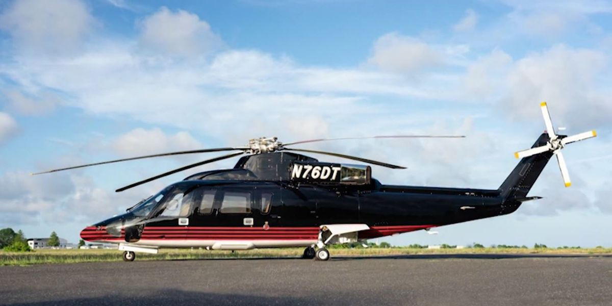 Trump Organization puts 'Apprentice' chopper up for sale