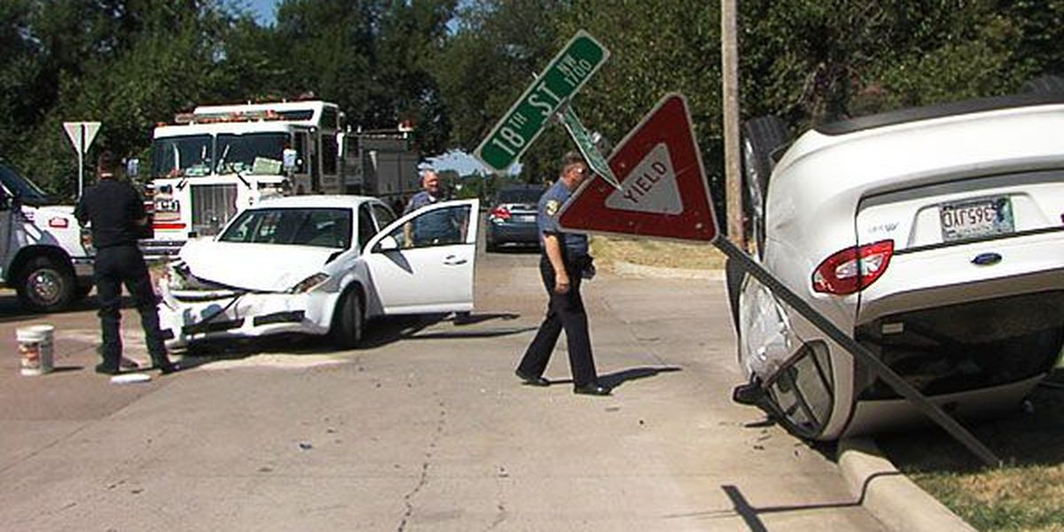 Minor injuries reported after neighborhood rollover