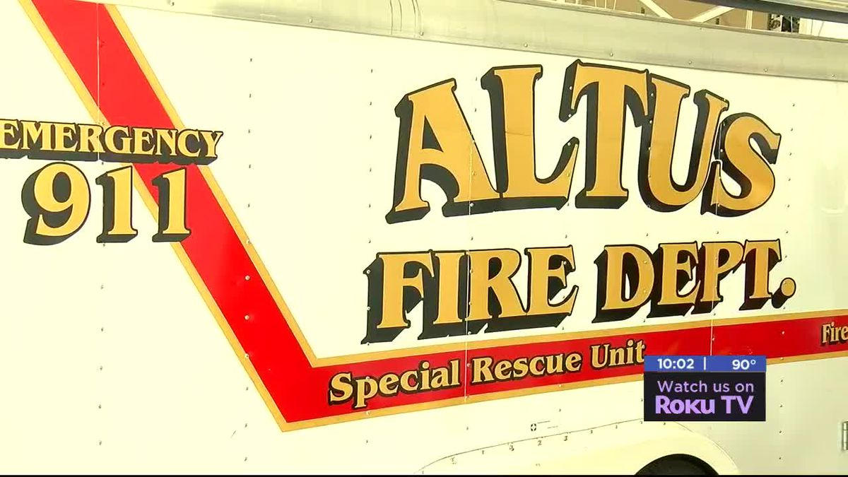 Altus Interim Fire Chief speaks about promotion, expectations in new leadership role