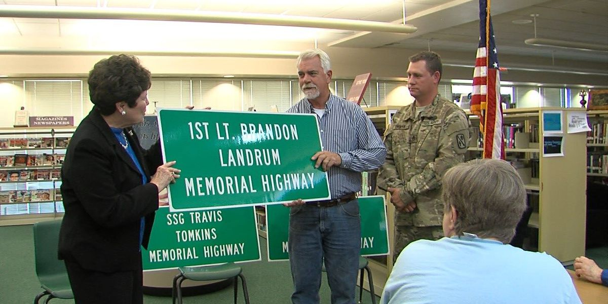 Section of highway renamed to honor fallen soldiers