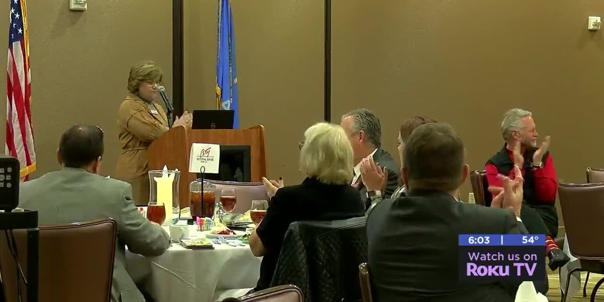 Lawton Fort-Sill Chamber of Commerce holds monthly luncheon