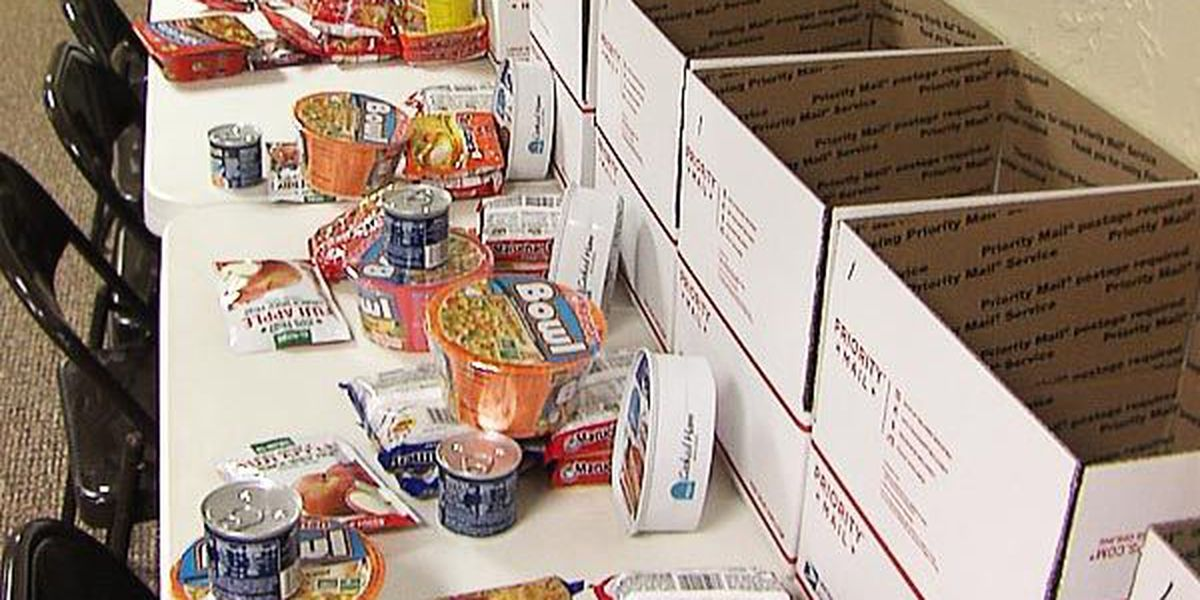 Sterling club prepares 40 boxes of food for families