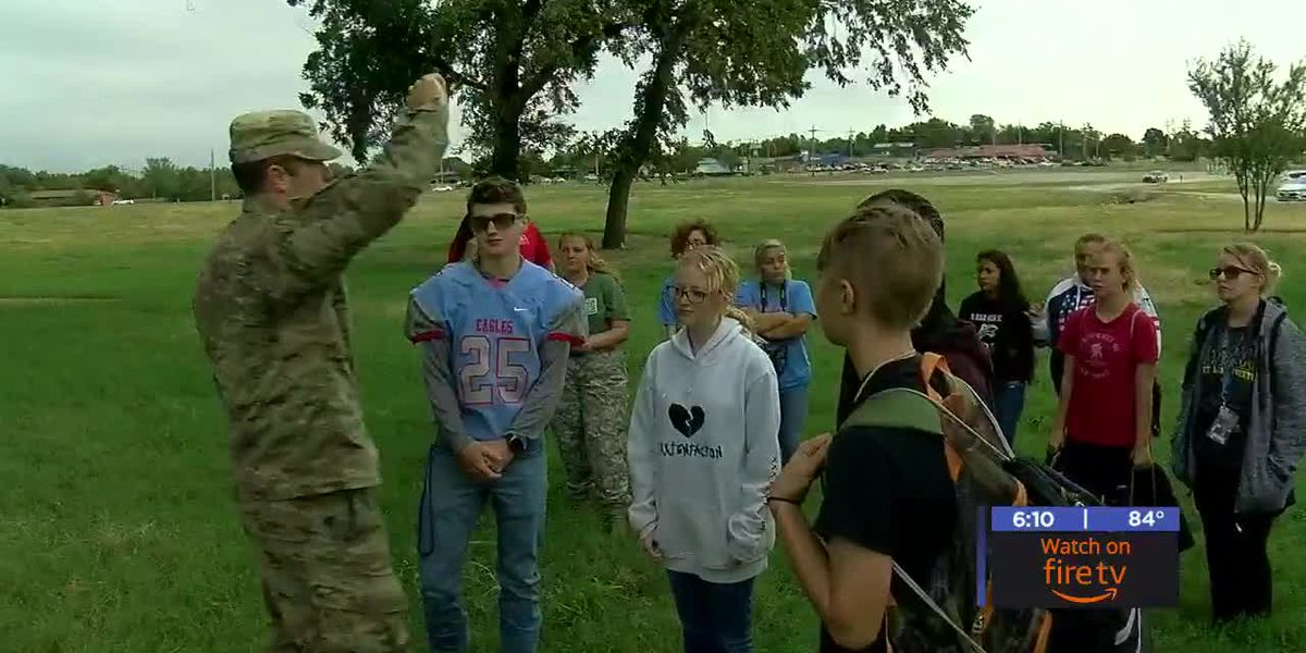 Cameron hosts students interested in Junior ROTC