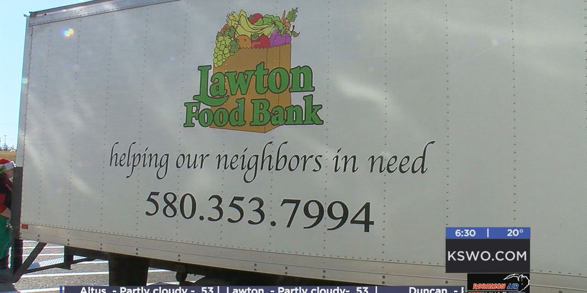 Lawton Food Bank explains how Share Your Christmas benefits them