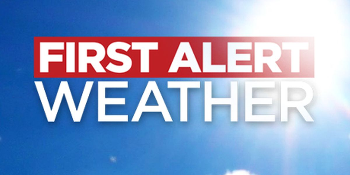 First Alert 7 Forecast: lots of sun this week, lower humidity, and cooler temperatures