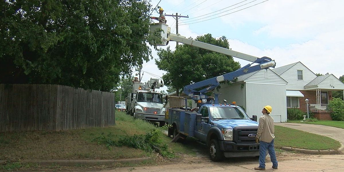 Duncan Power crews still working to restore electricity