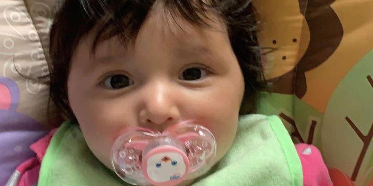 7-month-old girl found safe after Amber alert