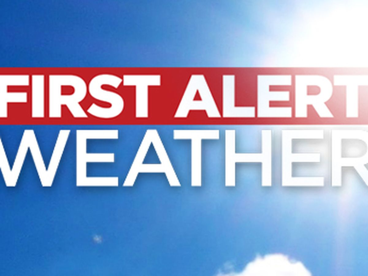 First Alert Forecast: High pressure in control, sunny & dry conditions today
