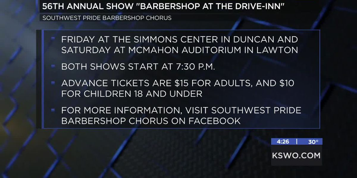 Southwest Pride Barbershop Chorus holding 56th annual show