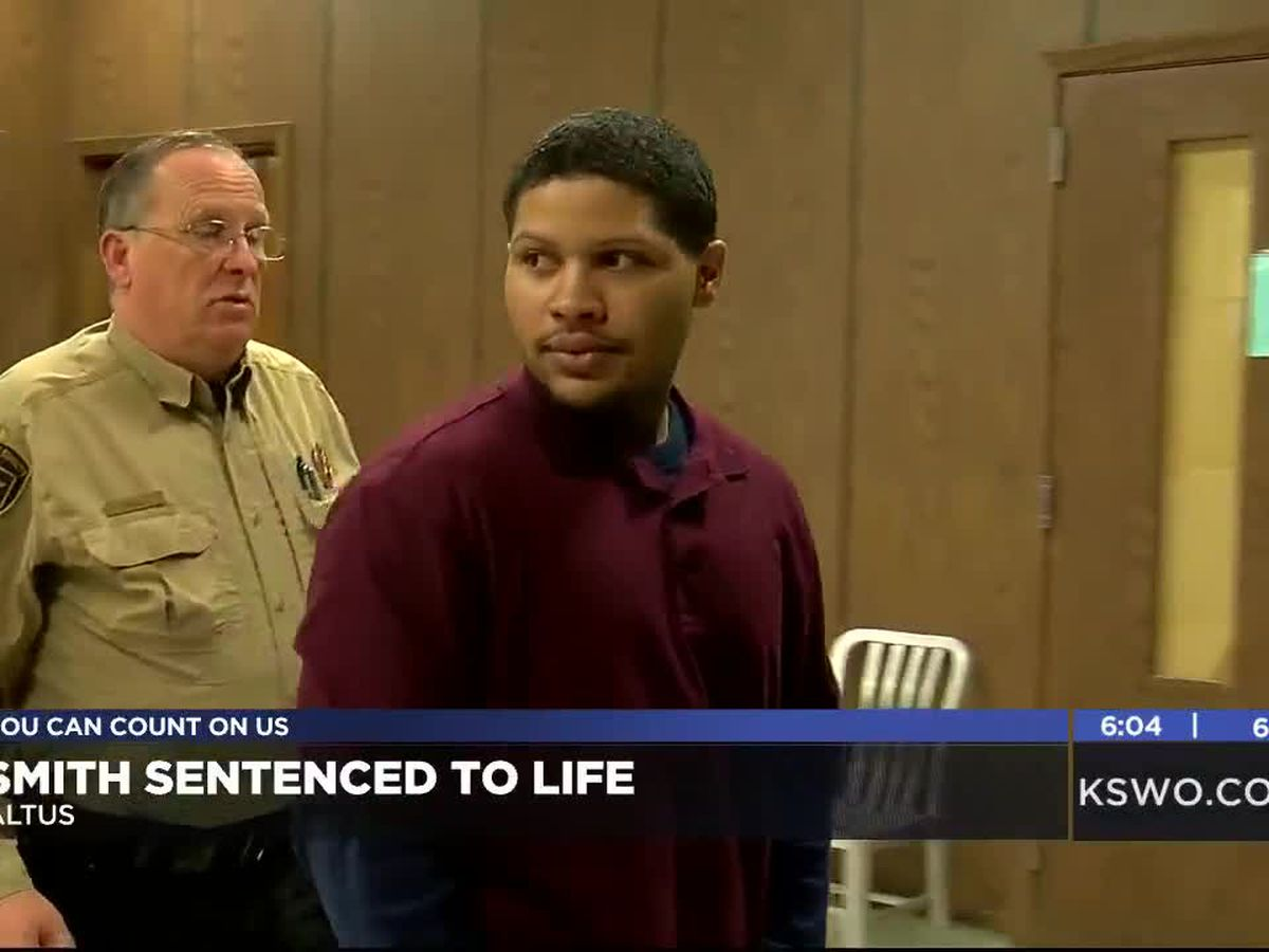 Smith sentenced to life for Altus murder