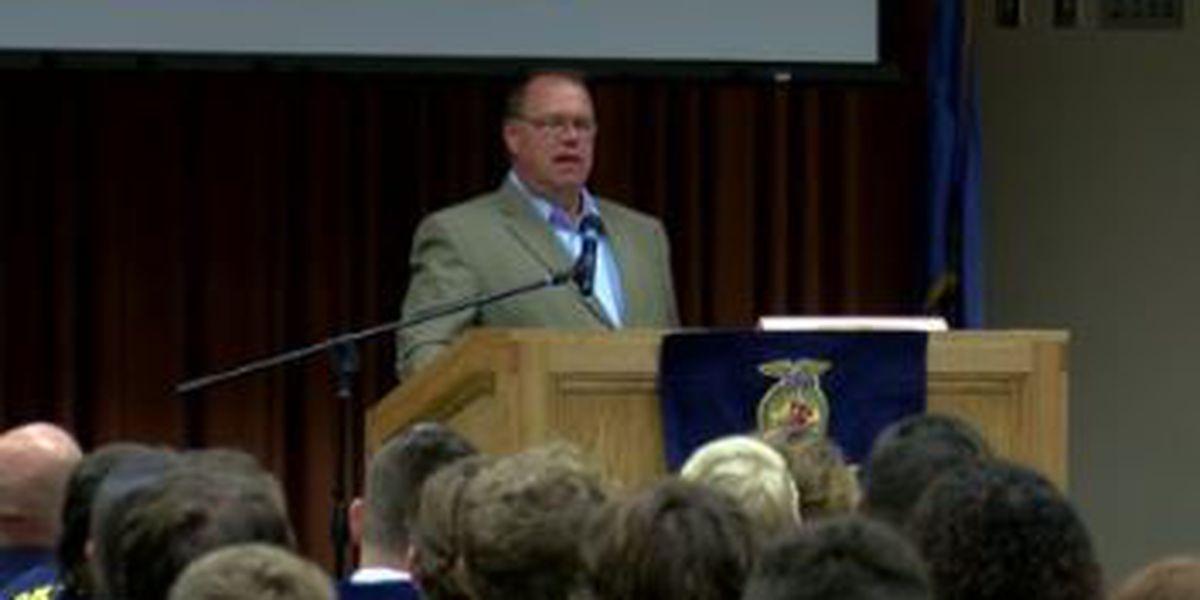Leadership training held Tuesday for FFA chapters across Southwest Oklahoma