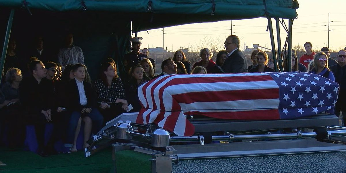 Lawton Police Sgt. C.H. Brazzel laid to rest