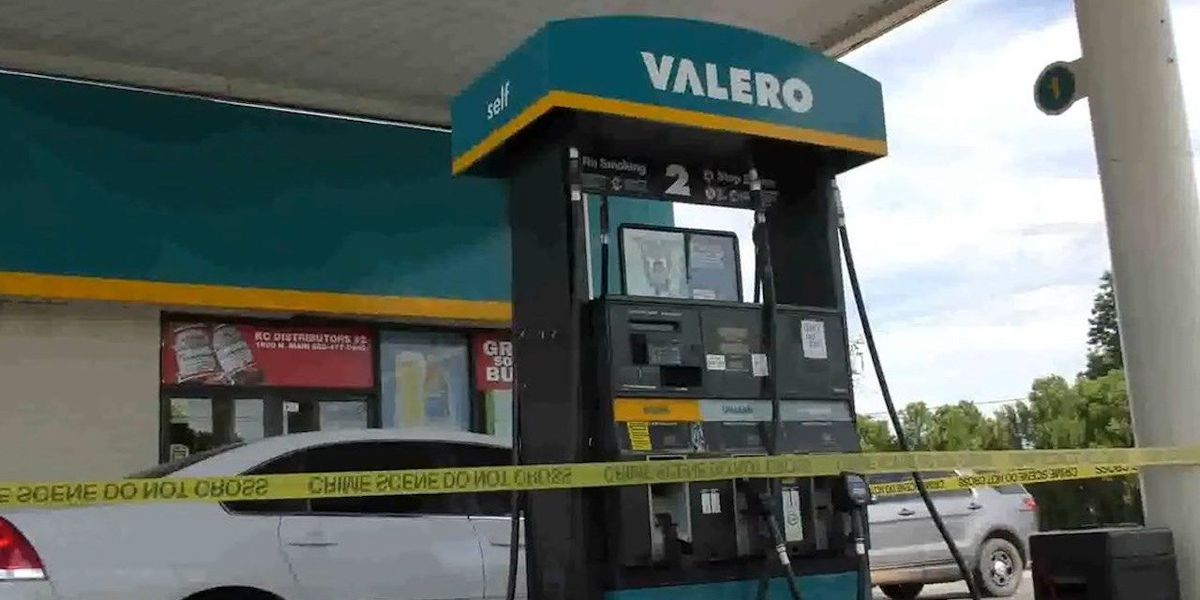 Gas station clerk beaten during robbery