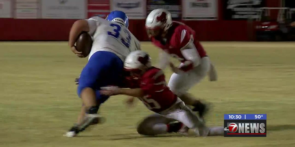 Central High holds off Empire 32-28