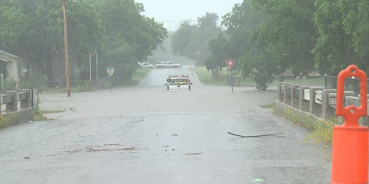 Heavy rain, flash flood causes road closures