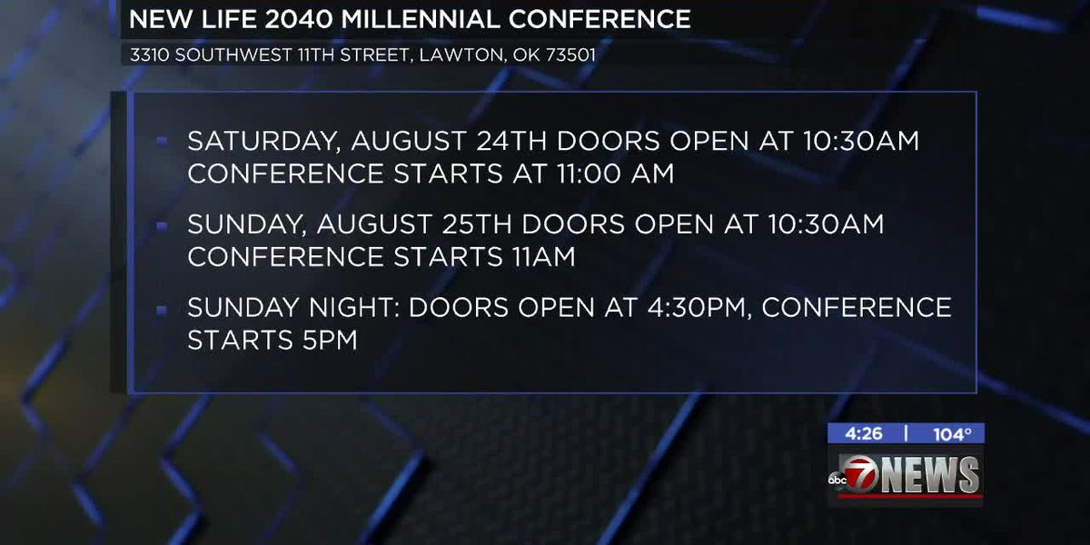 New Life 2040 Millennial Conference coming up in Lawton