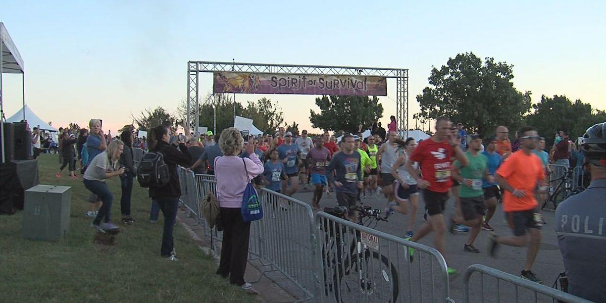 Thousands walk, run in 12th annual Spirit of Survival