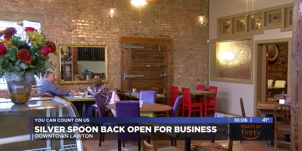 Silver Spoon back open for business