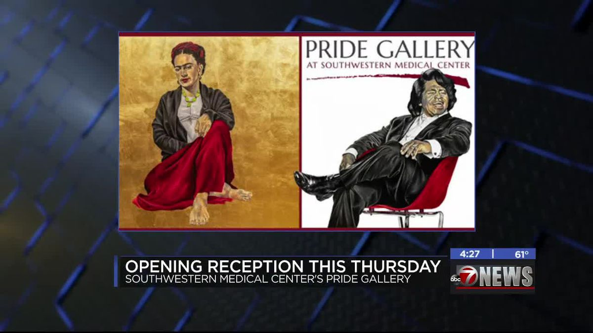 'Iconic People' exhibition opening at Southwestern Medical Center's Pride Gallery