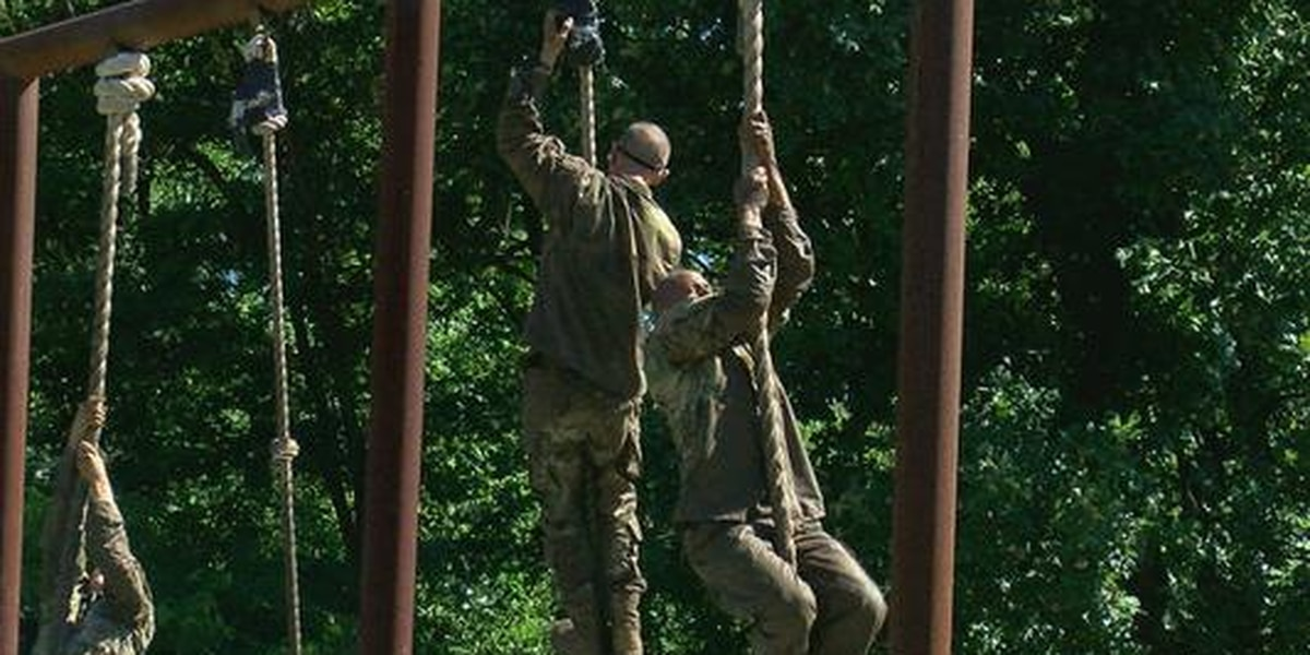 Fort Sill basic trainees practice personal strength, loyalty in Combat Conditioning Course