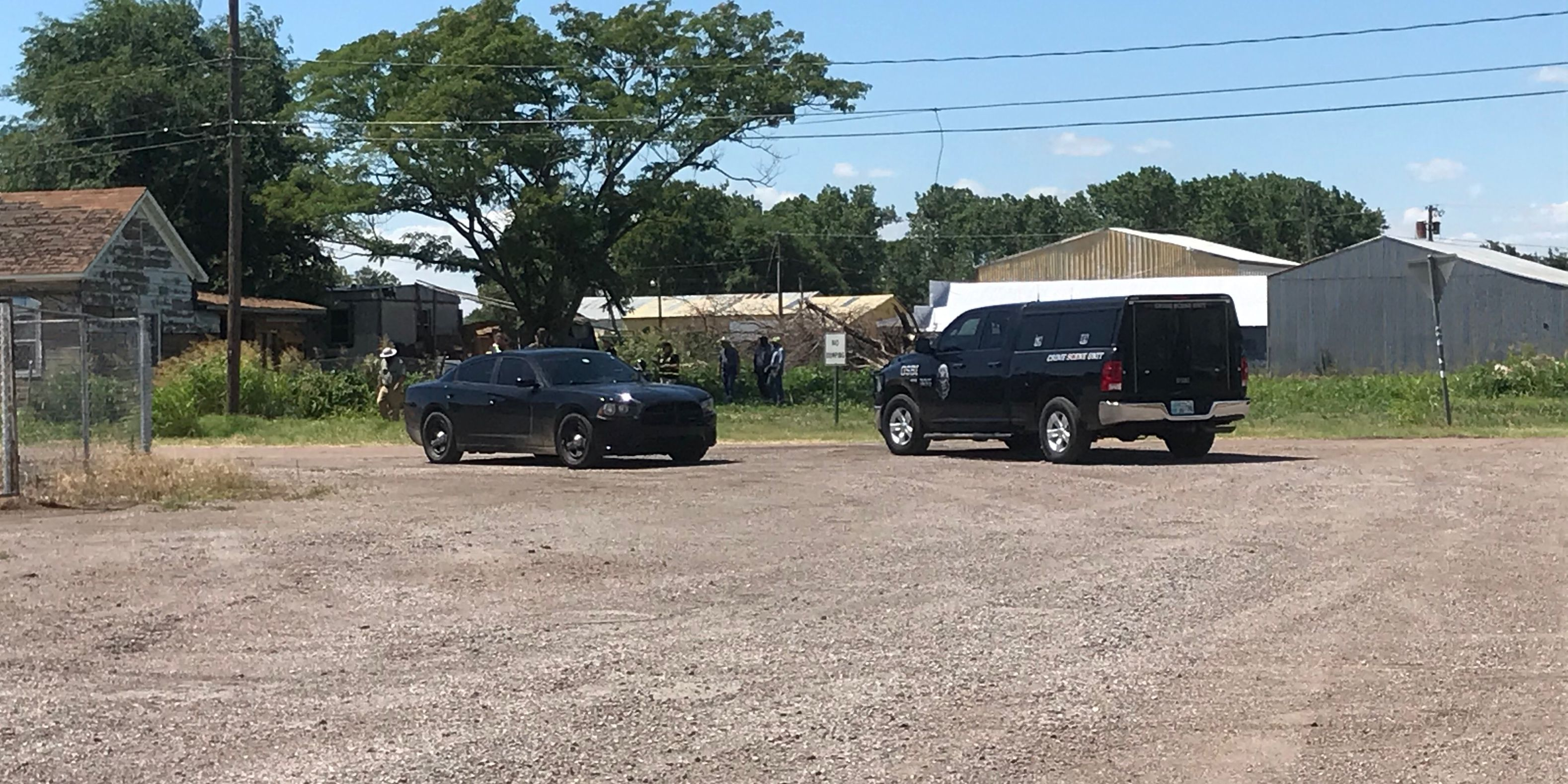 OSBI, Kiowa Co. Sheriff's Dept. search for possible buried bodies