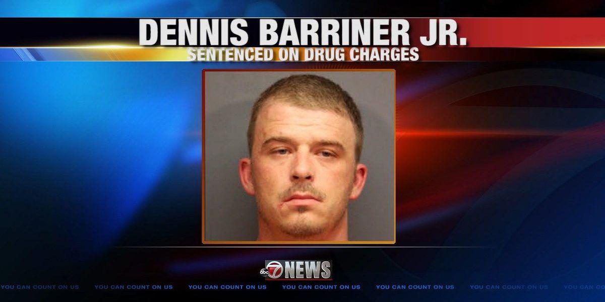Drug dealer sentenced to 10 years