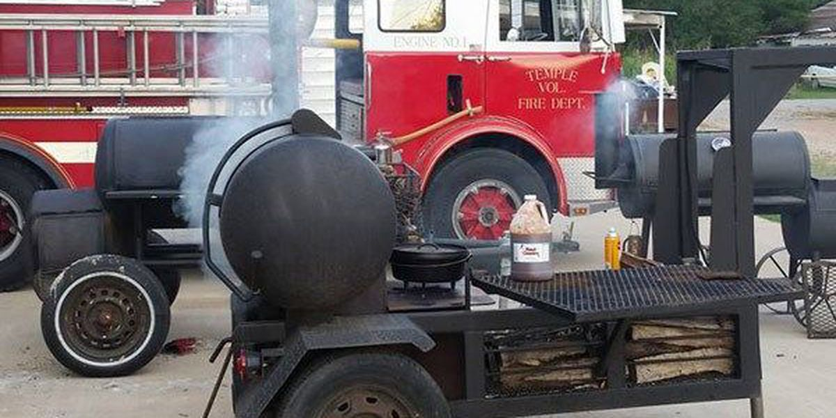 Temple VFD hopes BBQ fundraiser will pay for new tires