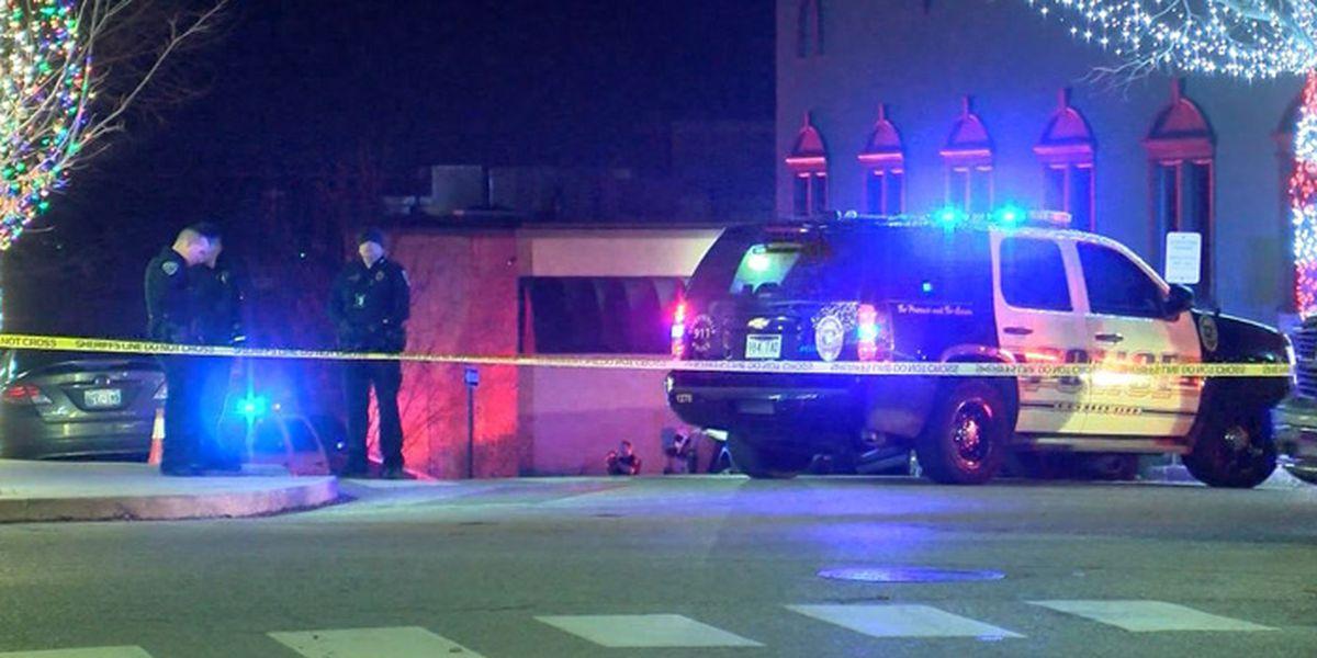 Arkansas officer fatally shot outside station; suspect dead