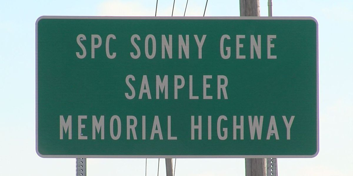Highway dedication honors fallen solider